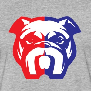 American Bully Mascot - Fitted Cotton/Poly T-Shirt by Next Level