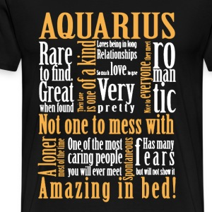 Aquarius Shirt - Men's Premium T-Shirt