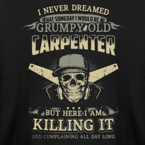 Grumpy Old Carpenter - Kids' Long Sleeve T-Shirt
