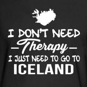 Iceland Therapy Shirt - Men's Long Sleeve T-Shirt