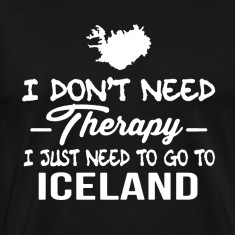 Iceland Therapy Shirt