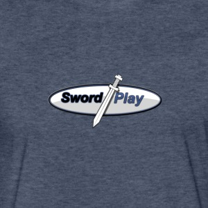 Fitted Cotton T Swordplay Logo - Fitted Cotton/Poly T-Shirt by Next Level