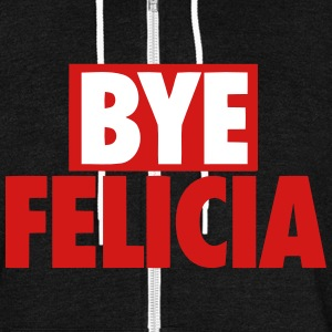BYE FELICIA Zip Hoodies & Jackets - Unisex Fleece Zip Hoodie by American Apparel