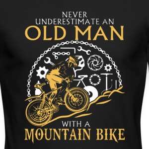 Mountain Bike Shirt - Men's Long Sleeve T-Shirt by Next Level