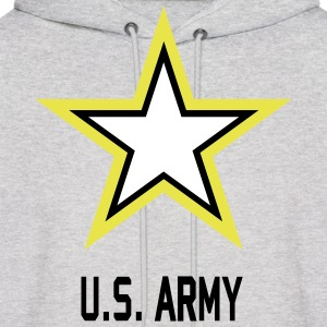 US Army Hoddie gray ash man - Men's Hoodie