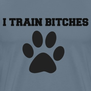 TRAINBITCHES T-Shirts - Men's Premium T-Shirt