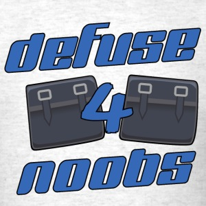 Counter-Strike CSGO - Defuse 4 Noobs - Men's T-Shirt