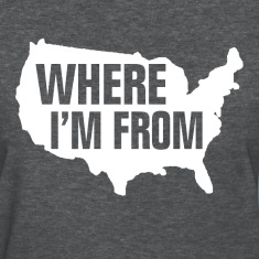 USA Where I'm From Women's T-Shirts