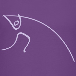 Athletics Pole Vault Pictogram Kids' Shirts - Kids' Premium T-Shirt