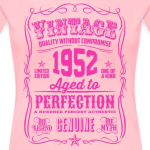 Vintage 1952 Aged to Perfection 64th Birthday - Women's Premium T-Shirt