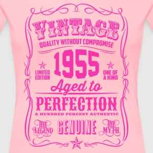 Vintage 1955 Aged to Perfection 61th Birthday - Women's Premium T-Shirt