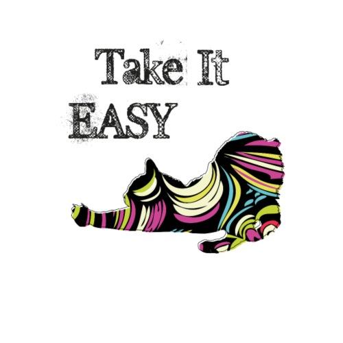 Pop cat take it easy