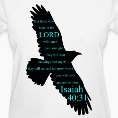 Isaiah 40:31 Eagle Women's T-Shirts