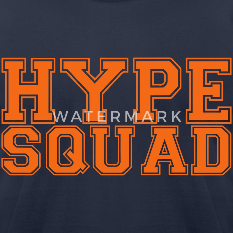 Hype Squad t-shirt - Men's T-Shirt by American Apparel