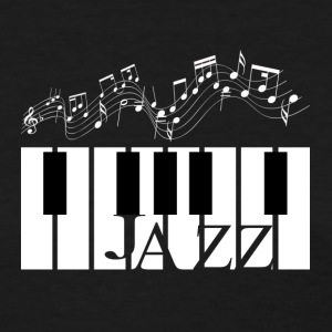 Jazz Piano Design  - Women's T-Shirt