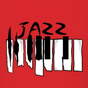 Broken Jazz Piano  - Men's T-Shirt