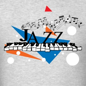 Vector Jazz Design - Men's T-Shirt