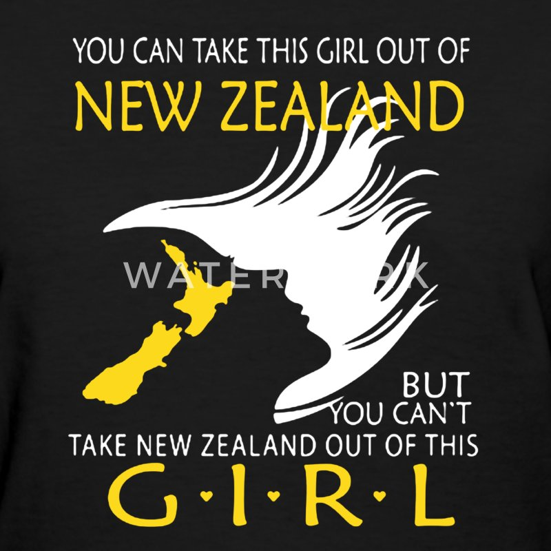New Zealand Girl Shirt - Women's T-Shirt