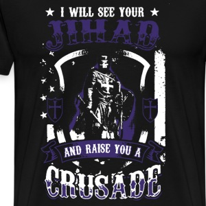 Crusader Shirt - Men's Premium T-Shirt