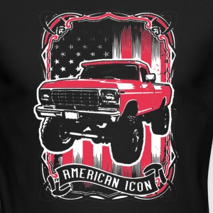 American Icon Shirt - Men's Long Sleeve T-Shirt by Next Level