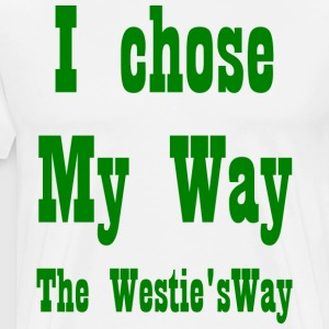 I chose My Way Green - Men's Premium T-Shirt