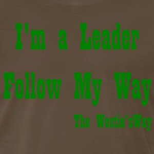 Follow My Way Green - Men's Premium T-Shirt