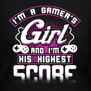 Gamers Girl Shirt - Women's Long Sleeve Jersey T-Shirt