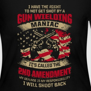 2nd Amendment Shirt - Women's Long Sleeve Jersey T-Shirt