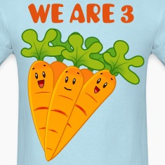 Funny Carrots We are 3