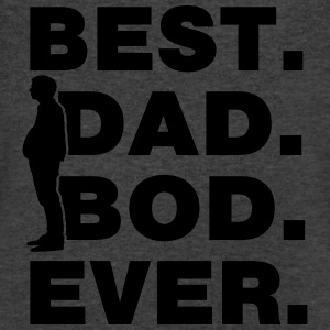 Best Dad Bod Ever T-Shirts - Men's V-Neck T-Shirt by Canvas