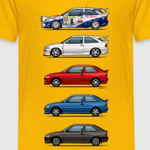 Stack of Ford Escort MkVs Coupes Baby & Toddler Shirts - Toddler Premium T-Shirt