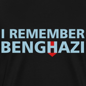 I Remember Benghazi - Men's Premium T-Shirt