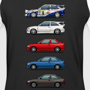 Stack of Ford Escort MkVs Coupes T-Shirts - Baseball T-Shirt