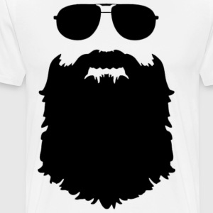 Beard is king shirt - Men's Premium T-Shirt