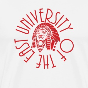 University of the East Red Warriors T-Shirts - Men's Premium T-Shirt