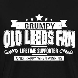 Grumpy Old Leeds Fan - Men's Premium T-Shirt