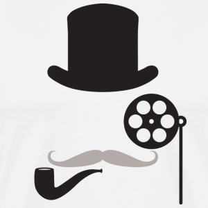 The Filmlosophers Monocle Tee - Men's Premium T-Shirt