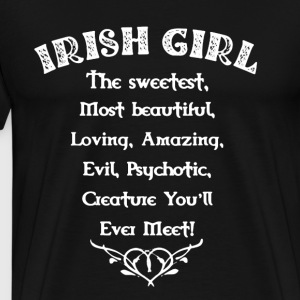 Irish Girl - Men's Premium T-Shirt