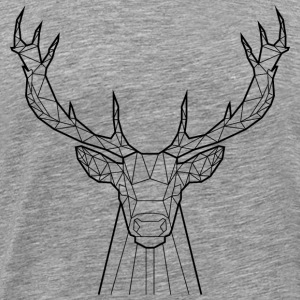 Black Deer - Animal Prism - Men's Premium T-Shirt