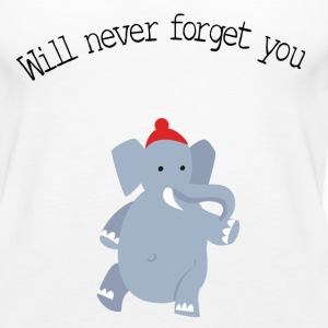 cute elephant forget Tanks - Women's Premium Tank Top