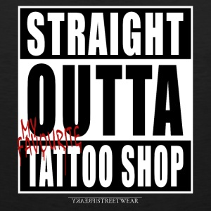 straightoutta tattoo shop Sportswear - Men's Premium Tank
