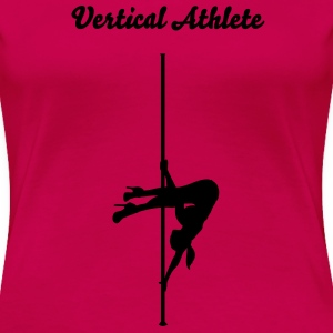 Vertical Athlete - ayesha - Women's Premium T-Shirt