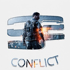 CONFLICT BF4 LOGO  Kids' Shirts