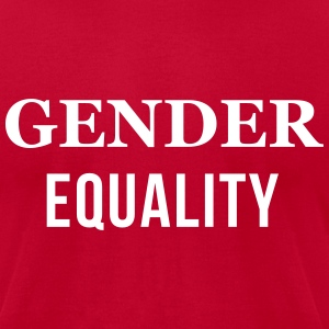 Gender Equality  T-Shirts - Men's T-Shirt by American Apparel