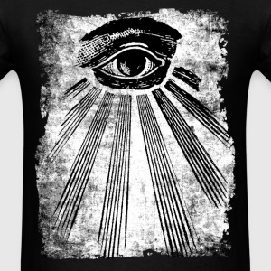 ALL SEEING EYE OCCULT T-SHIRT - Men's T-Shirt