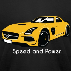 Speed and Power - Men's T-Shirt by American Apparel