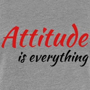 Attitude is everything Women's T-Shirts - Women's Premium T-Shirt