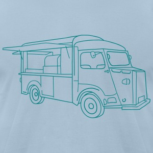 Food Truck - Men's T-Shirt by American Apparel