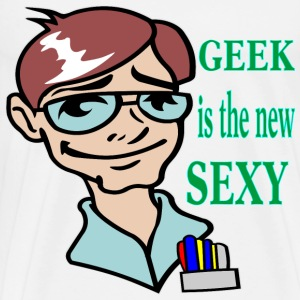 Geek Is The New Sexy  - Men's Premium T-Shirt