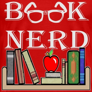 Book Nerd Geek Is The New Sexy  - Men's Premium T-Shirt